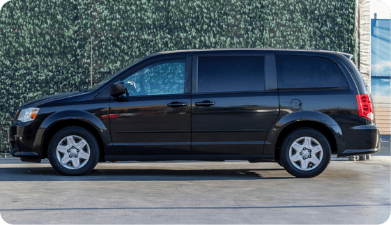 Book a minivan in HI