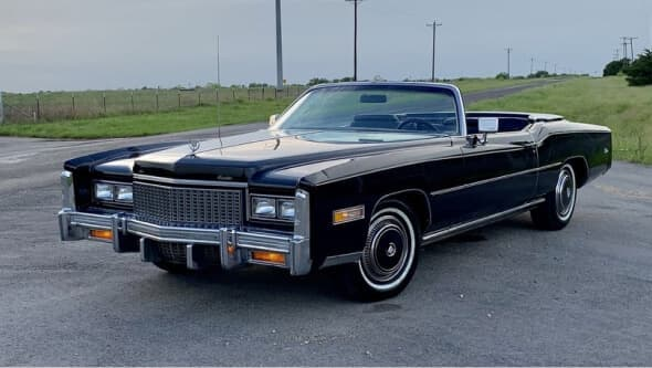 Khalid's 1976 Cadillac Eldorado